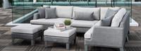 Portofino® Sling Armless Chair Base Cushion - Space Gray