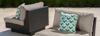 Portofino® Comfort Armless Chair Base Cushion - Taupe Mist