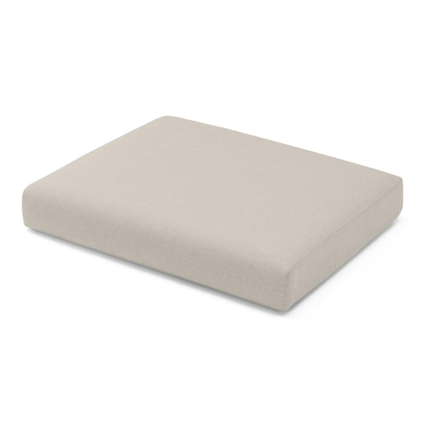 Portofino Comfort Armless Chair Base Cushion - Taupe Mist