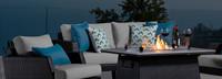 Portofino® Casual 16in Accent Pillow - Prism Lagoon