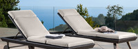 Portofino® Casual Lounger Mattress - Dove Gray