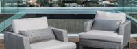 Portofino® Sling Club Chair Back Cushion - Space Gray