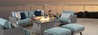 Portofino® Casual Club Chair Back Cushion - Spa Blue
