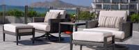 Vistano® Club Chair Back Cushion - Flax
