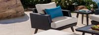 Portofino® Casual Club Chair Base Cushion - Dove Gray