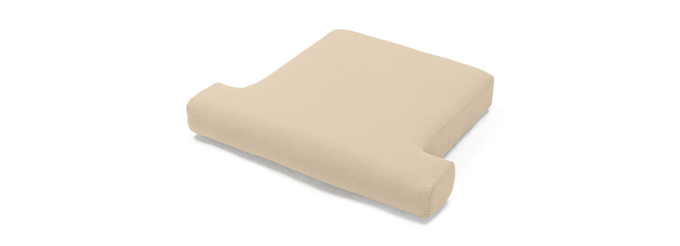 Portofino® Comfort Club Chair Base Cushion - Heather Beige