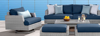 Portofino® Comfort Club Chair Base Cushion - Laguna Blue