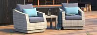Modular Outdoor Club Chair Base Cushion