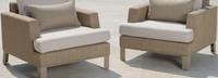 Portofino® Sling Club Chair Base Cushion - Beige Fennel