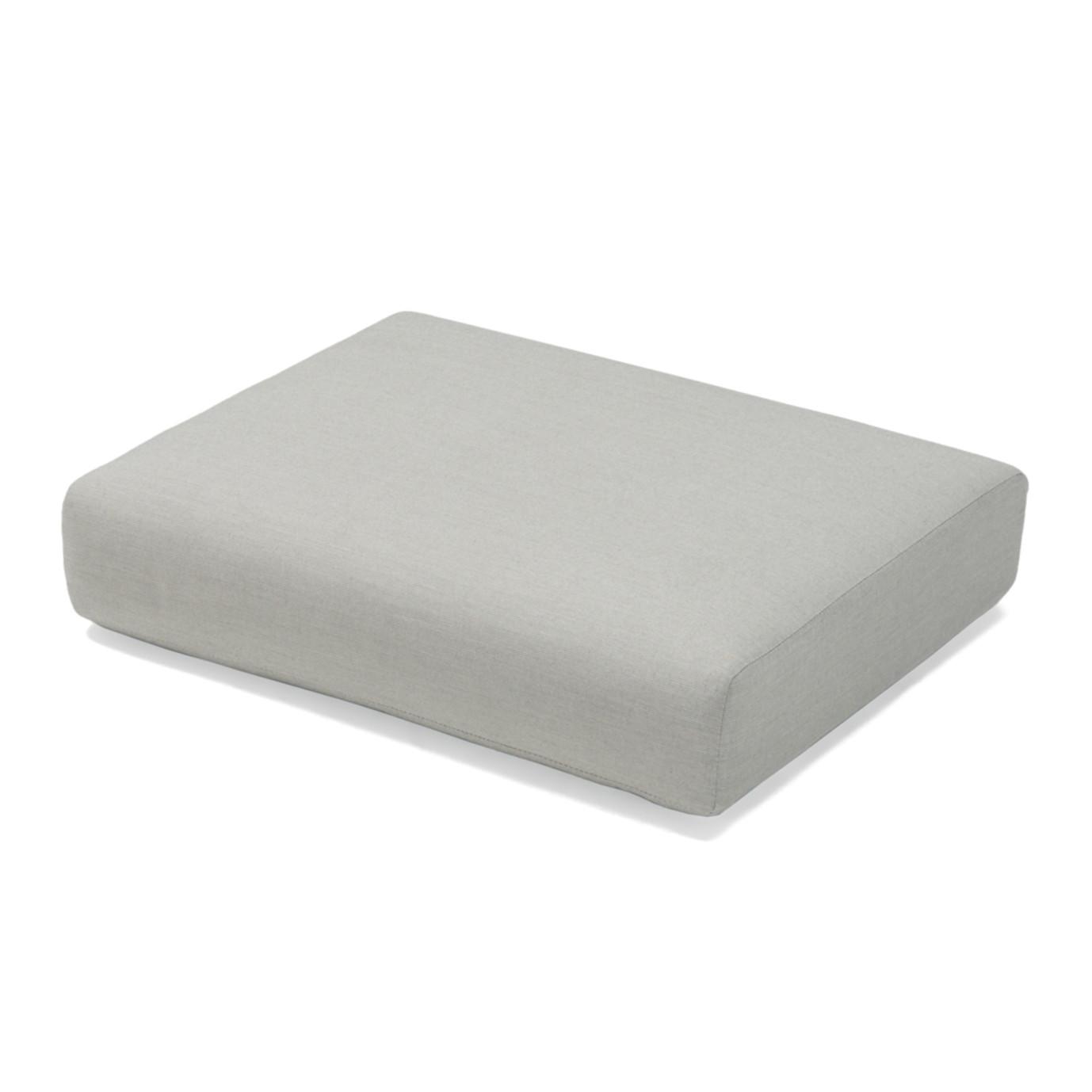 Portofino Casual Club Ottoman Cushion - Dove Gray
