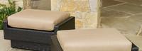 Portofino® Comfort Club Ottoman Cushion - Heather Beige