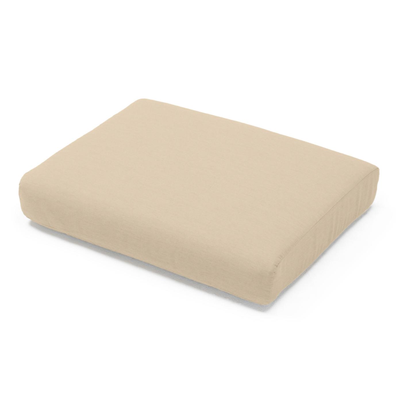 Portofino Comfort Club Ottoman Cushion - Heather Beige
