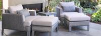 Portofino® Sling Club Ottoman Cushion - Space Gray