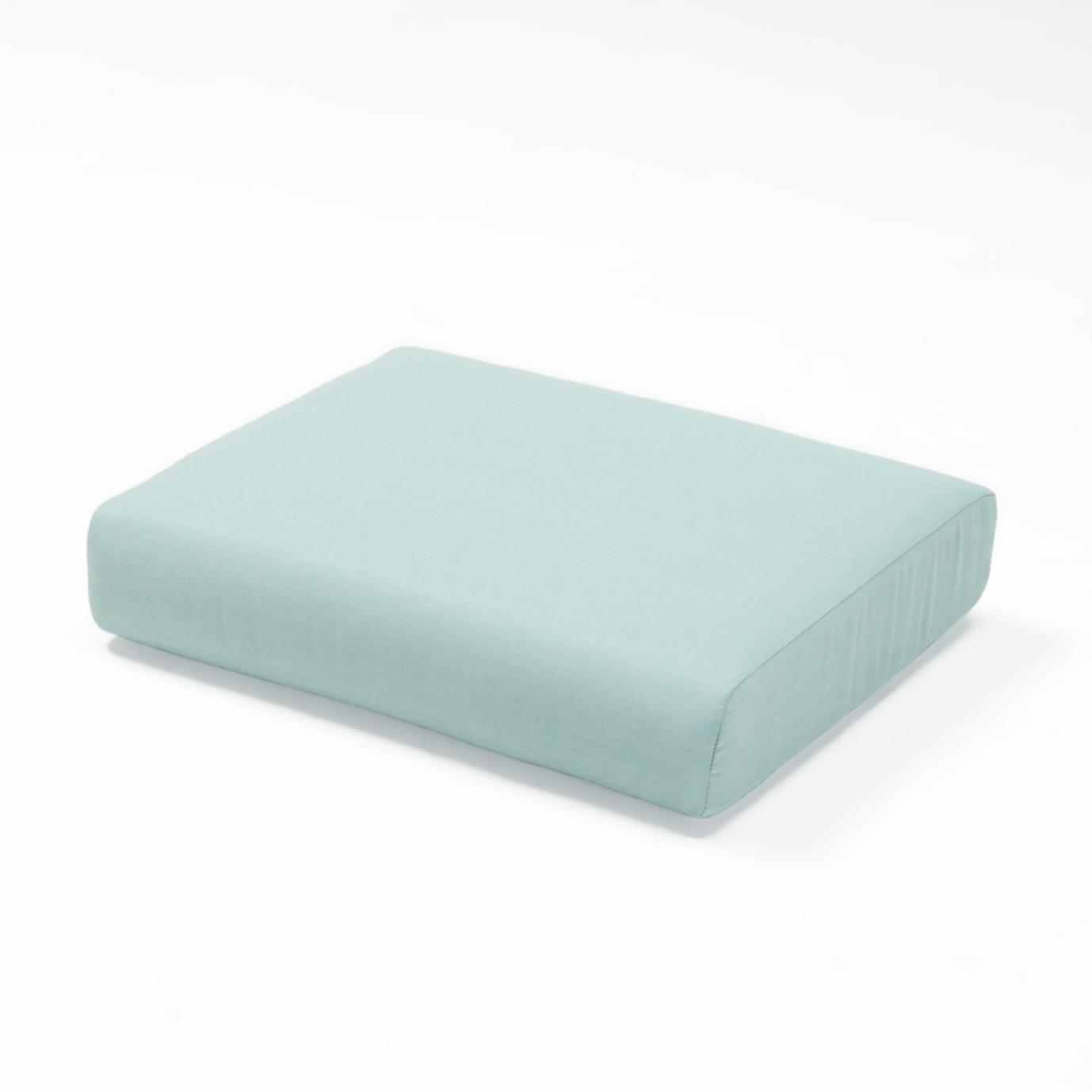 Portofino Casual Club Ottoman Cushion - Spa Blue