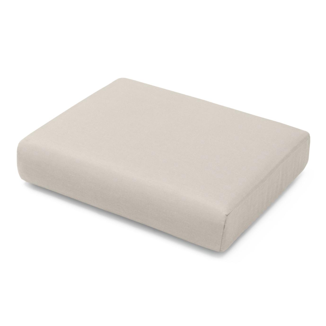 Portofino Comfort Club Ottoman Cushion - Taupe Mist