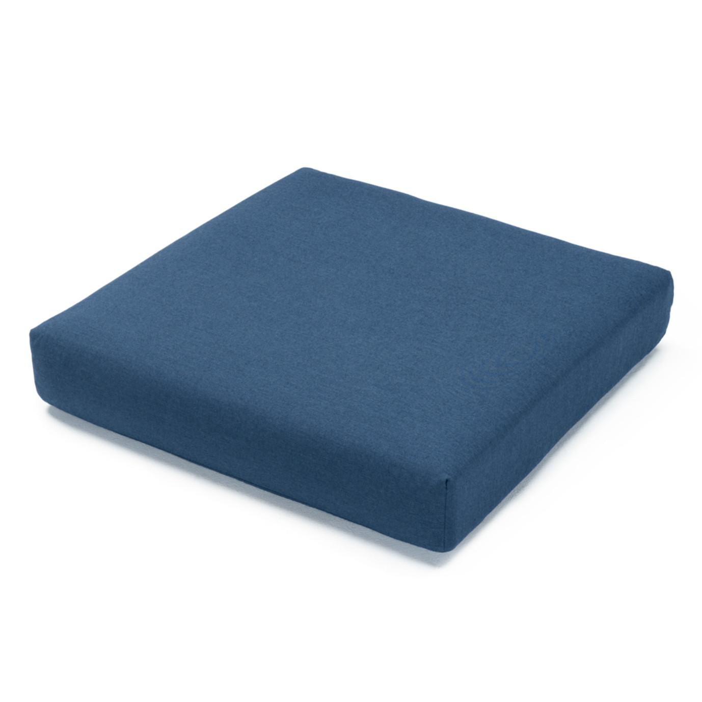 Portofino Comfort Corner Chair Base Cushion - Laguna Blue