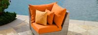 Modular Outdoor Corner Chair Base Cushion