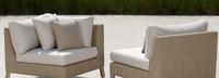 Portofino® Sling Corner Chair Base Cushion - Beige Fennel