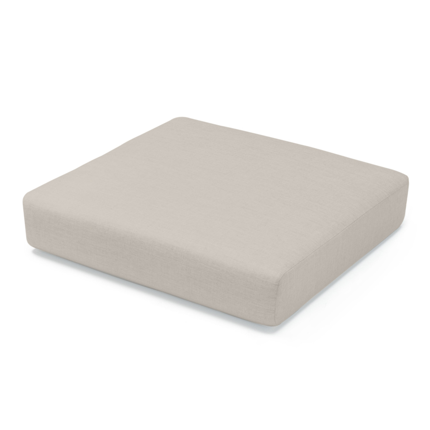 Portofino Comfort Corner Chair Base Cushion - Taupe Mist