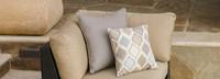 Portofino® Comfort Corner Chair Large Back Cushion - Heather Beige