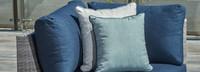 Portofino® Comfort Corner Chair Small Back Cushion - Laguna Blue