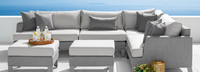 Portofino® Sling Corner Chair Small Back Cushion - Space Gray