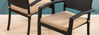 Portofino® Comfort Dining Chair Cushion - Heather Beige