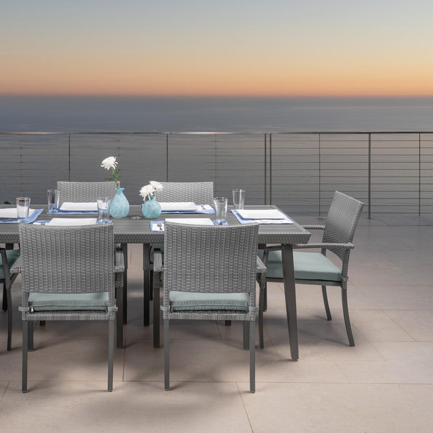 Portofino® Casual Dining Chair Cushion - Spa Blue