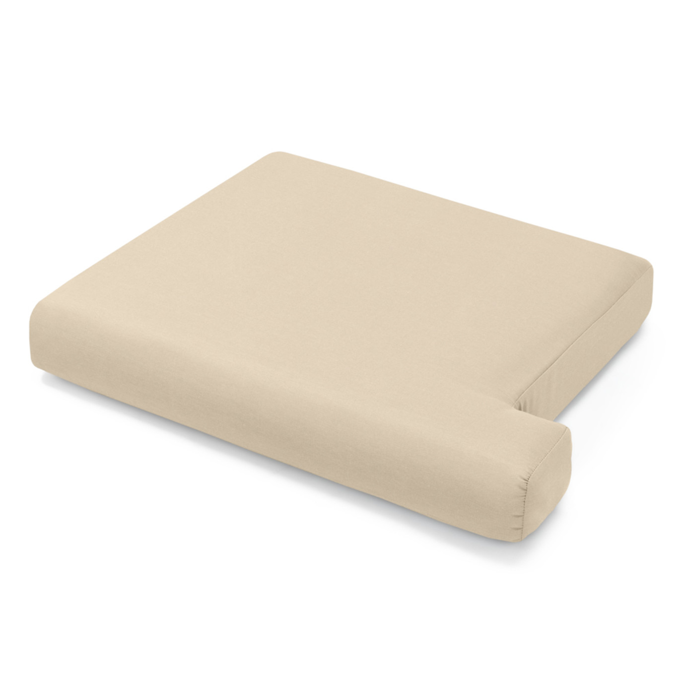 Portofino Comfort 71in Loveseat Left Base Cushion - Heather Beige