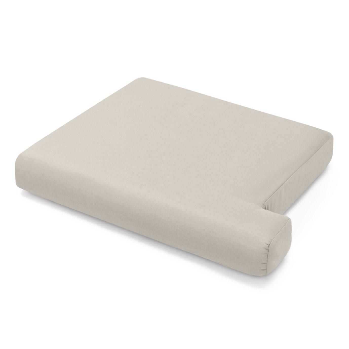 Portofino Comfort 71in Loveseat Left Base Cushion - Taupe Mist