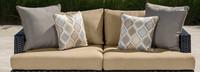Portofino® Comfort 71in Loveseat Right Base Cushion - Heather Beige