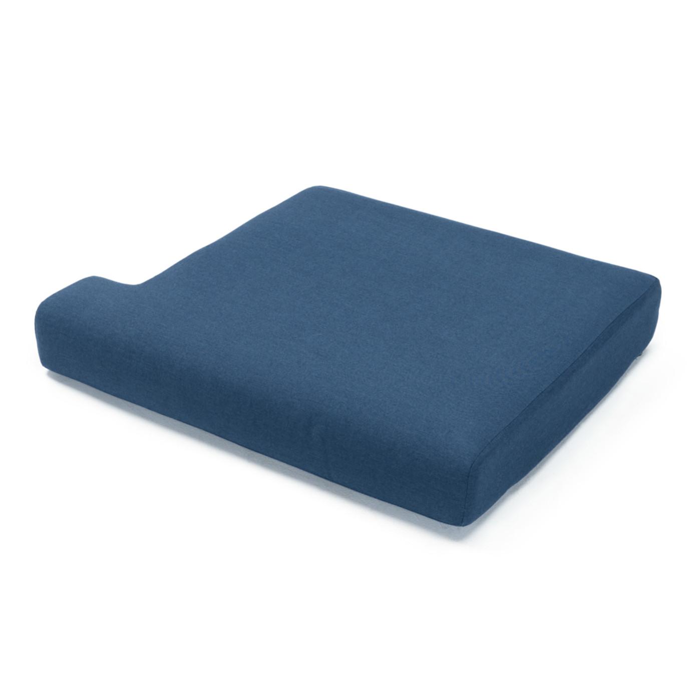 Portofino Comfort 71in Loveseat Right Base Cushion - Laguna Blue