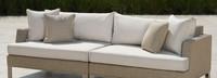 Portofino® Sling 96in Sofa Back Cushion - Beige Fennel
