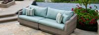 Modular Outdoor 96in Sofa Base Cushion