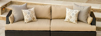 Portofino® Comfort 96in Sofa Right Base Cushion - Heather Beige