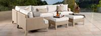 Portofino® Sling 96in Sofa Right Base Cushion - Beige Fennel