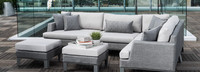 Portofino® Sling 96in Sofa Right Base Cushion - Space Gray