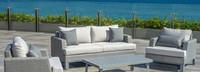 Portofino® Sling 71in Loveseat Left Base Cushion - Space Gray