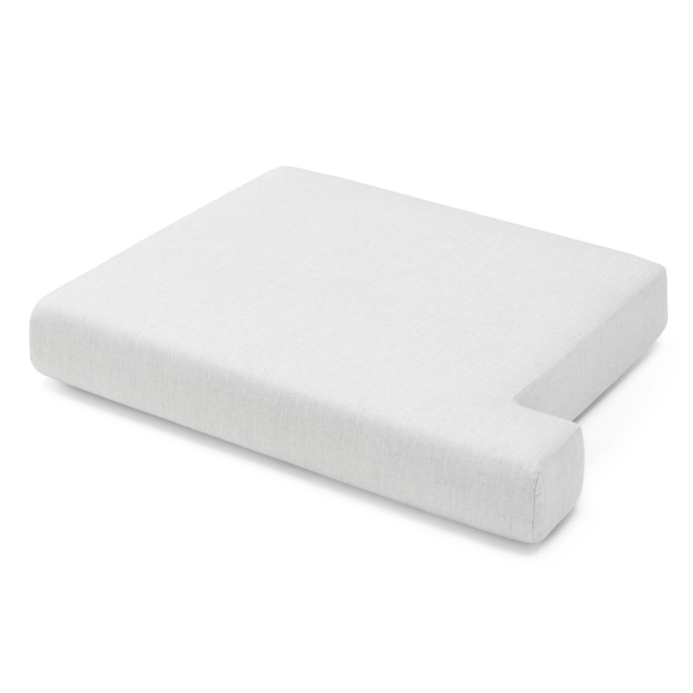 Portofino Sling 71in Loveseat Left Base Cushion - Space Gray