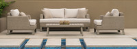 Portofino® Sling 71in Loveseat Right Base Cushion - Beige Fennel