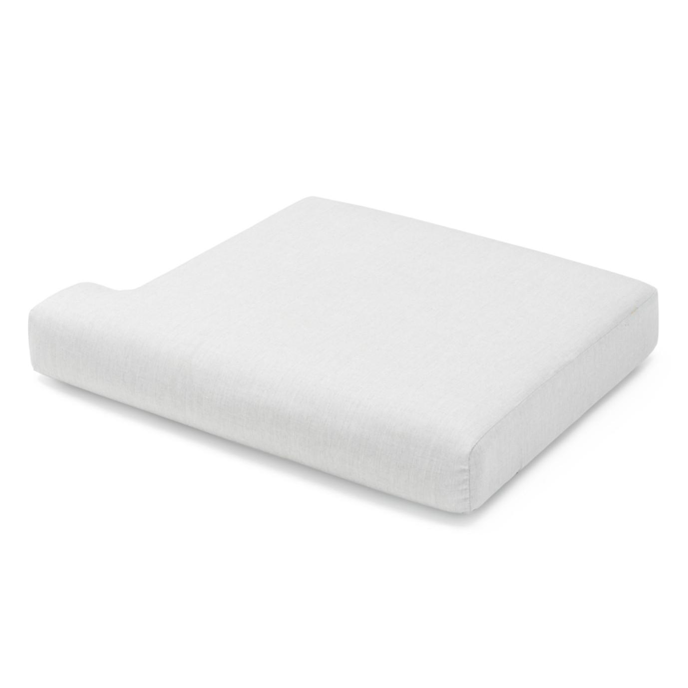 Portofino Sling 71in Loveseat Right Base Cushion - Space Gray