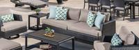 Portofino® Comfort 88in Sofa Back Cushion - Taupe Mist