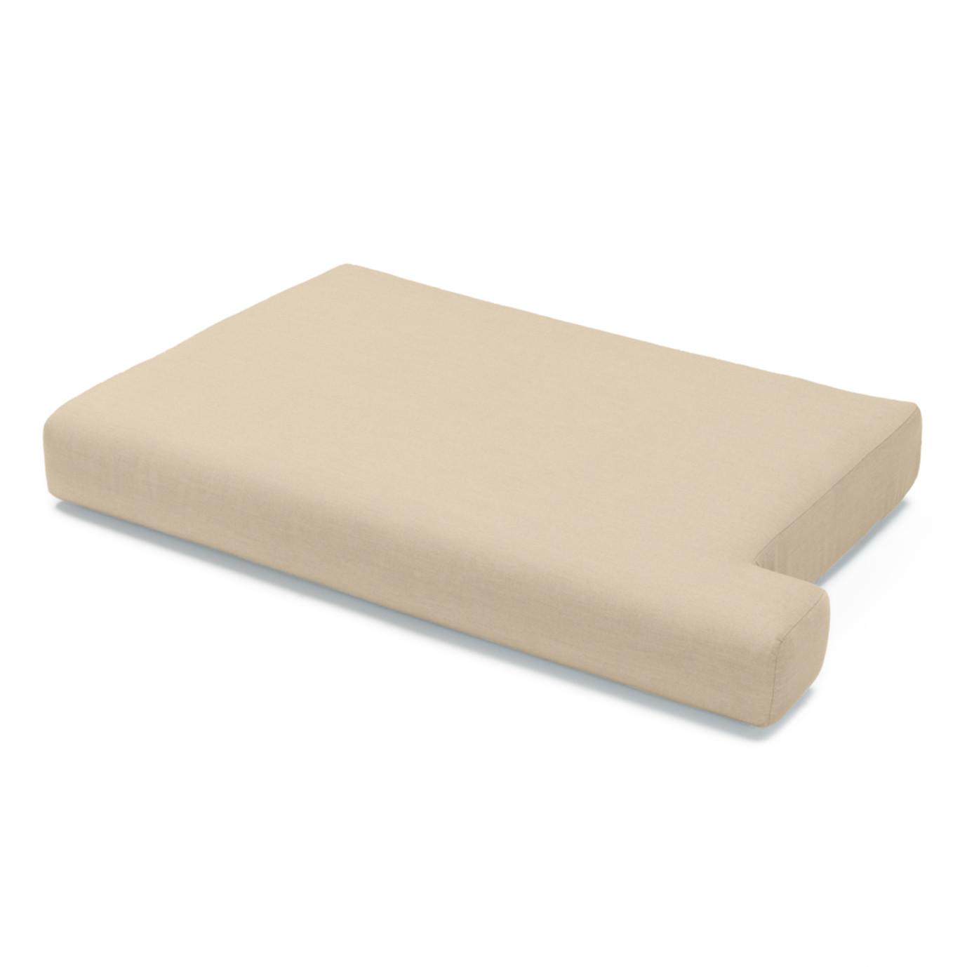 Portofino Comfort 88in Sofa Left Base Cushion - Heather Beige