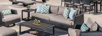 Portofino® Comfort 88in Sofa Left Base Cushion - Taupe Mist