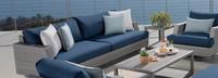 Portofino® Comfort 88in Sofa Right Base Cushion - Laguna Blue