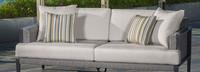 Vistano® 76in Sofa Left Base Cushion - Flax