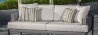 Vistano® 76in Sofa Right Base Cushion - Flax