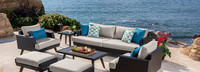 Portofino® Casual 88in Sofa Back Cushion - Dove Gray