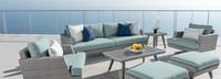 Portofino® Casual 88in Sofa Back Cushion - Spa Blue
