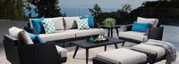 Portofino® Casual 88in Sofa Right Base Cushion - Dove Gray